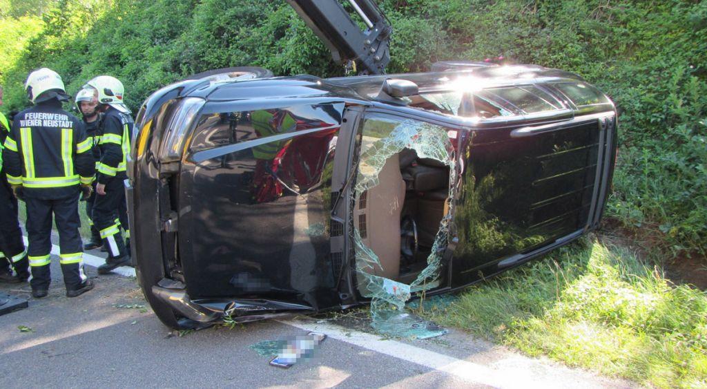 A2: Zwei Unfälle im Frühverkehr bei Wiener Neustadt