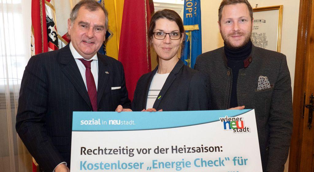 """Kostenloser """"Energie Check"""" in Wr. Neustadt für PlusCard-Inhaber"""