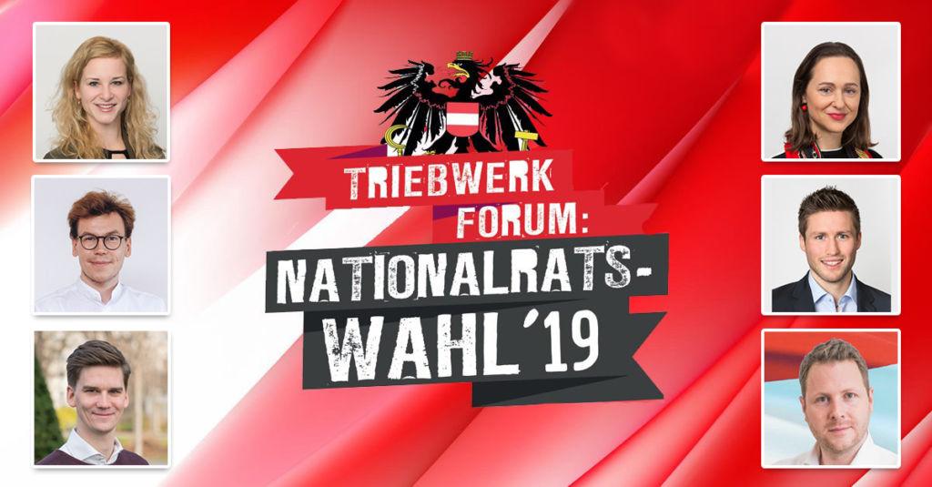 Triebwerk-Forum zur Nationalratswahl 2019