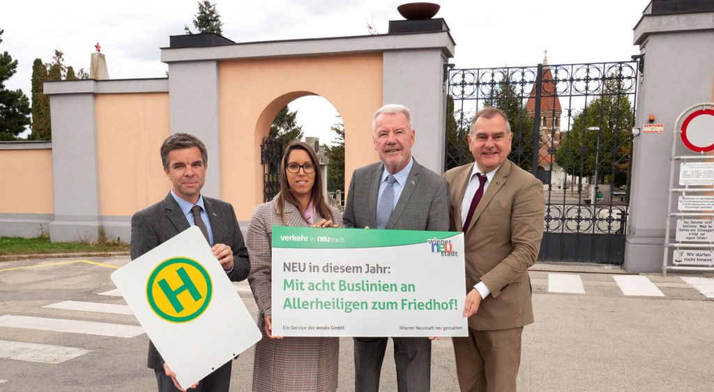 Wiener Neustadt: Kostenloser Busverkehr an Allerheiligen