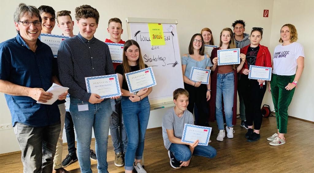 Lehrlingsstartertag der Wirtschaftskammer in Wiener Neustadt