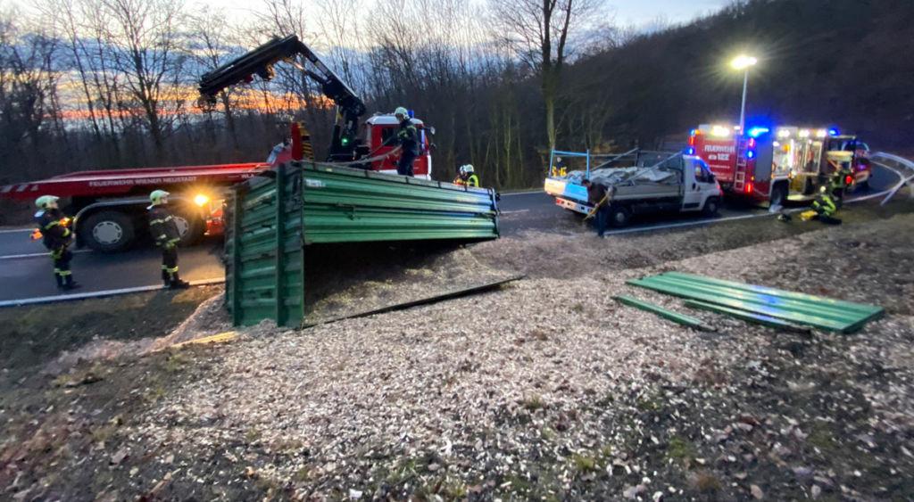 Feuerwehr Wiener Neustadt unterstützte die Eisenstädter Kollegen