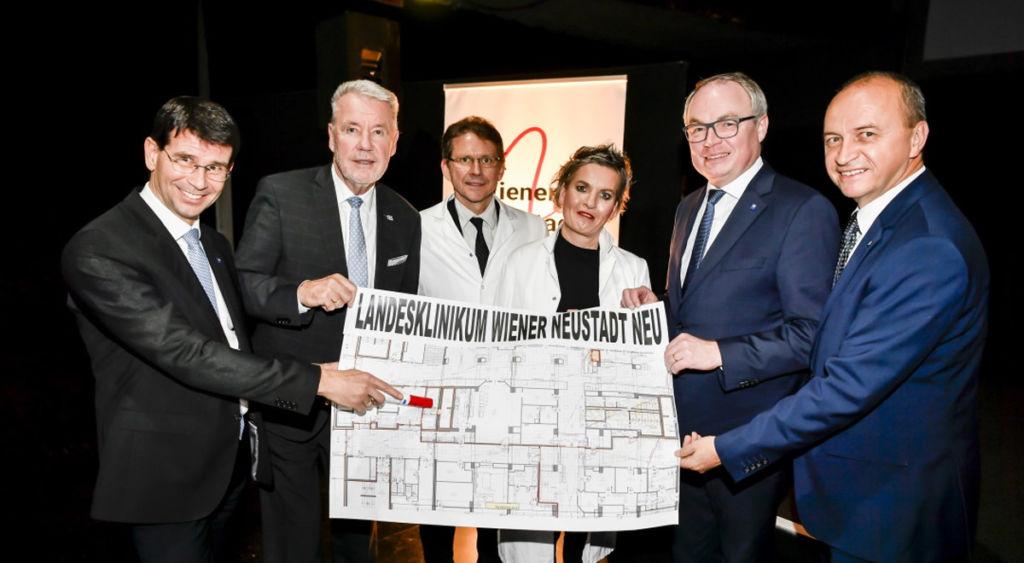 Startschuss zum größten Klinik-Neubau in Wiener Neustadt