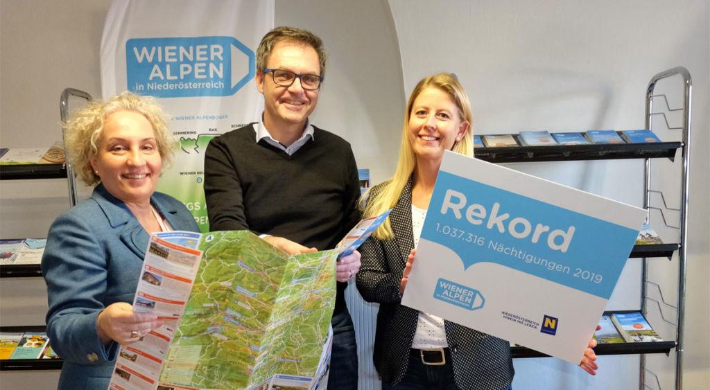 Top-Bilanz für die Tourismusoffensive in den Wiener Alpen