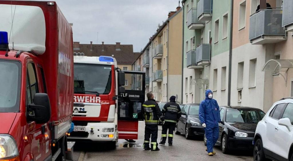 Wiener Neustadt: illegaler Ofen sorgt für Feuerwehreinsatz